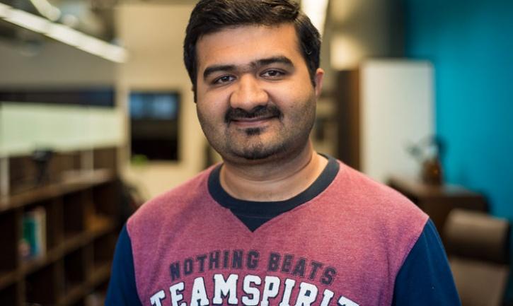Dr Vishal Gajjar, a Berkeley Postdoctoral Researcher