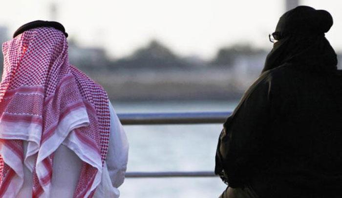 Saudi Man Divorces