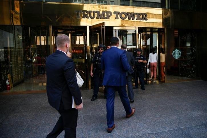 Trump Secret Security