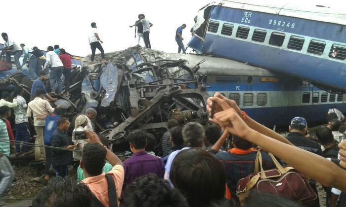 Kalinga-Utkal train derailment