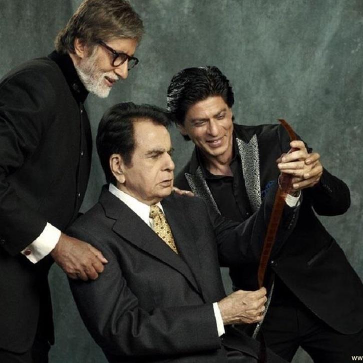 Dilip Kumar and SRK