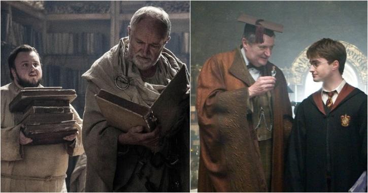 Jim Broadbent as Archmaester Marwyn and Professor Horace Slughorn