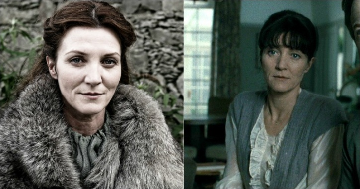 Michelle Fairley as Catelyn Stark and Hermione