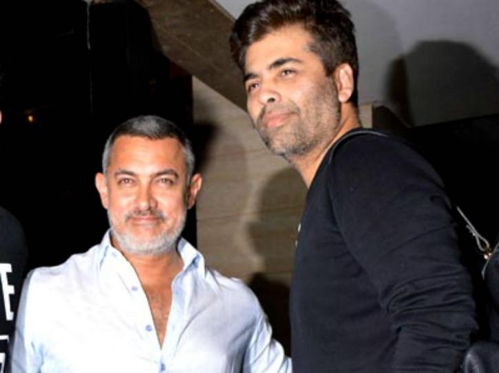 Aamir Khan and KJo