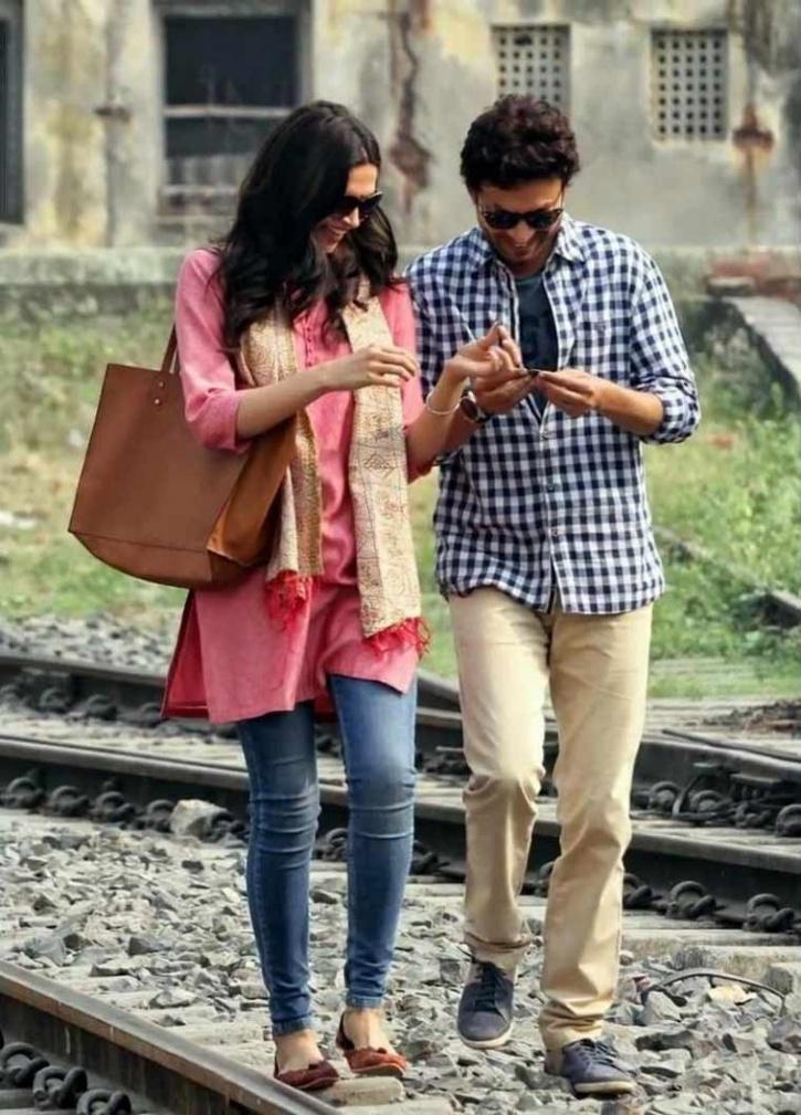 Deepika and Irrfan