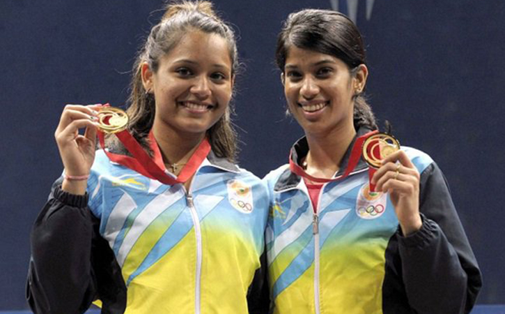 Joshna Chinappa And Dipika Pallikal