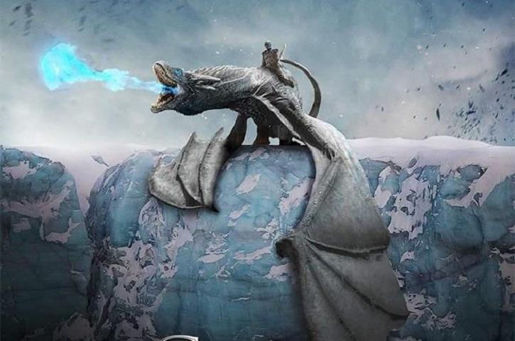 White dragon, ice dragon