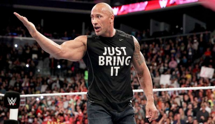 The Rock WWF Just Bring It