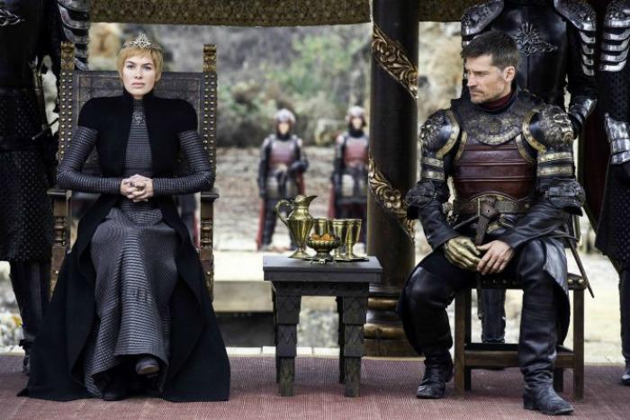 Jamie and Cersei
