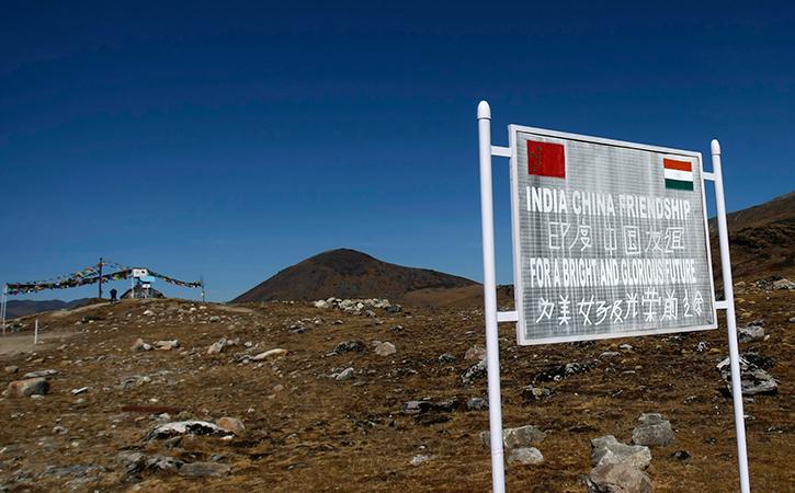 India china border