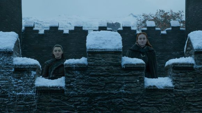 Sansa and Arya