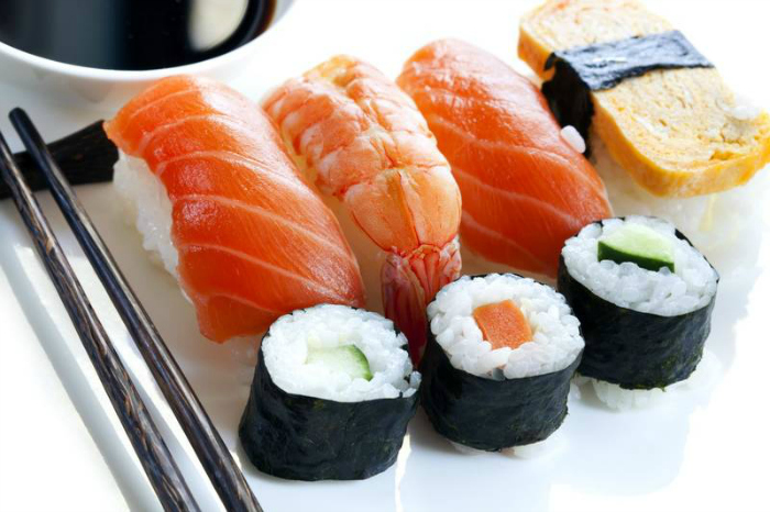 They eat seafood everyday  Apart from the protein and nutrition the biggest benefit you get from the daily consumption of seafood like fish. It's keeps the level of omega 3 to omega 6 in check, which has an anti-inflammatory effect on your body, helping keep the prevalence of chronic disease at bay.