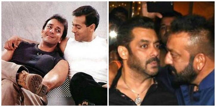 Salman and Sanjay