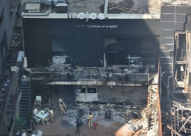 A Day After Kamala Mills Fire BMC Goes After Illegal Constructions