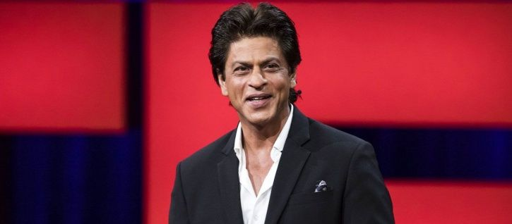 A srill of Shah Rukh Khan from Ted Talks