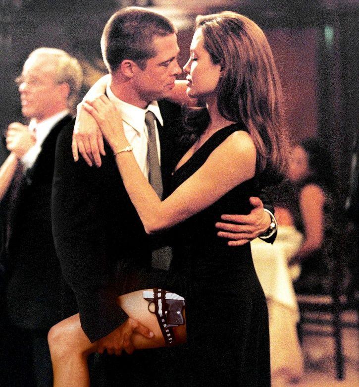 A still of Angelina Jolie and Brad Pitt