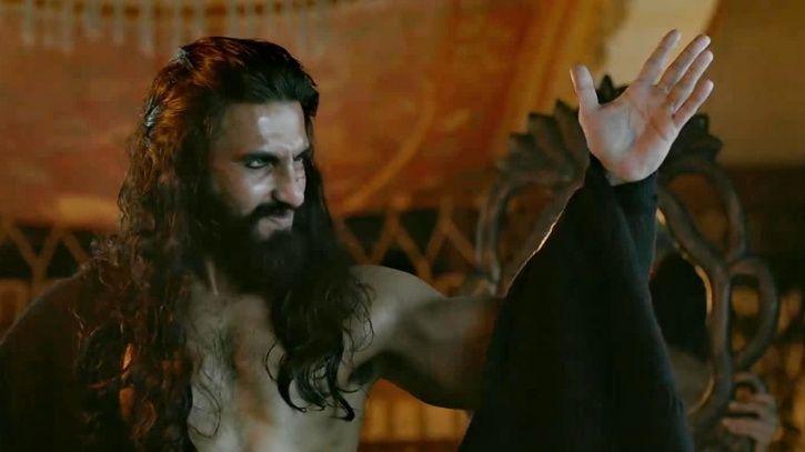 A still of Ranveer Singh from Padmavati
