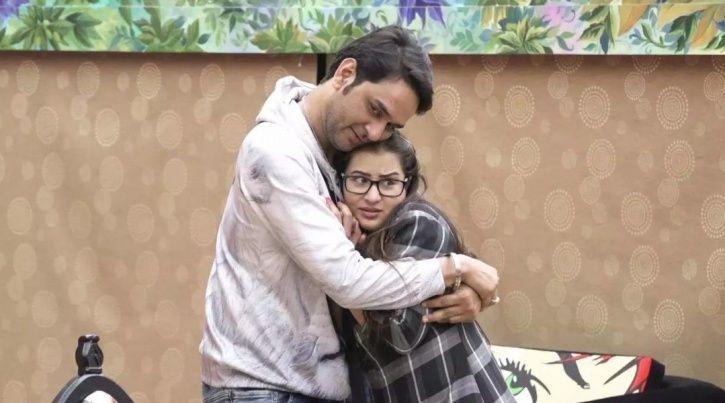 A still Vikas Gupta and Shilpa Shinde from Bigg Boss 11