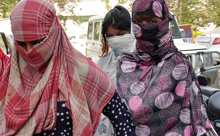 Aadhaar details of the Afghan woman arrested for prostitution