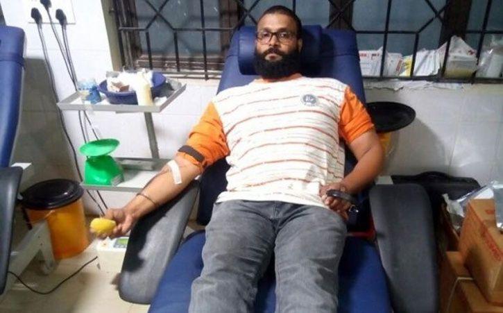 Aditya Hegde blood donor