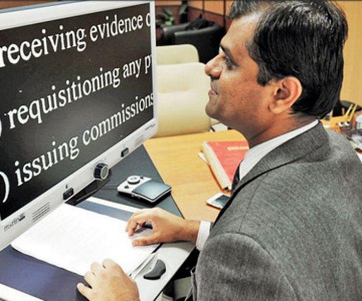 Aman Gupta IAS Officer 90% blind