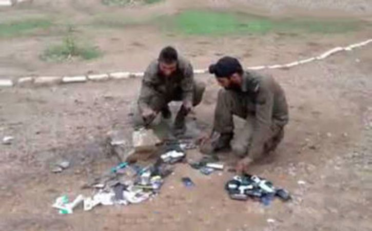 Army Centre Smashes Mobiles Of Trainee Soldiers