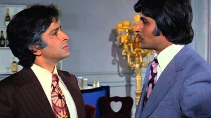 Big B and Shashi Kapoor