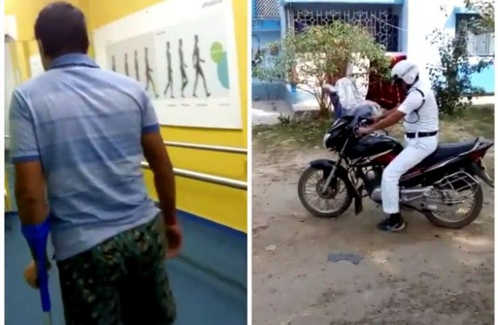braveheart traffic cop to rejoin duty with prosthetic leg