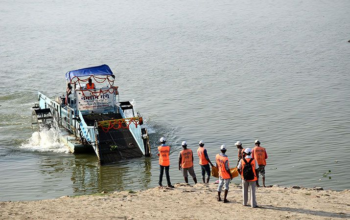 CAG Slams Modi Slow Ganges Clean
