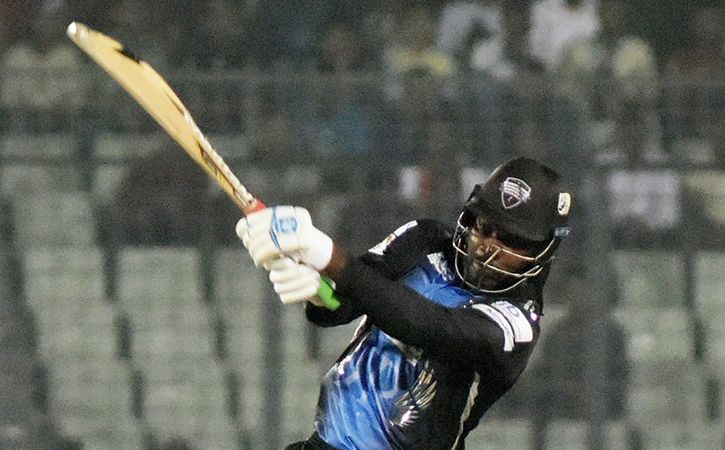 Chris Gayle Hits A Record 18 Sixes In BPL Final