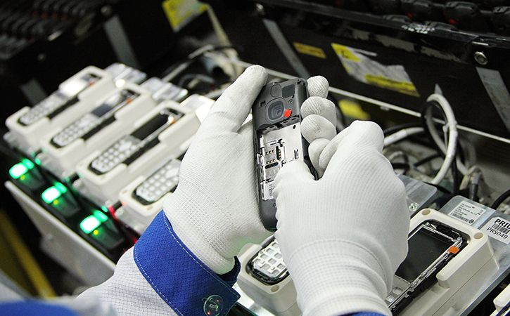 E-Goods Made In India Pull Ahead Of Imports