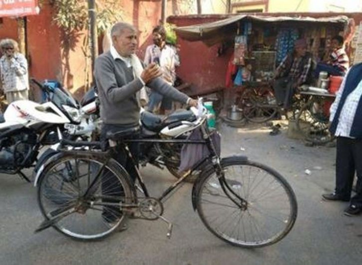 Father Pedals In Search Of Lost Son