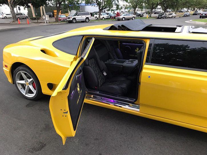 Ferrari 360 modena stretch limo