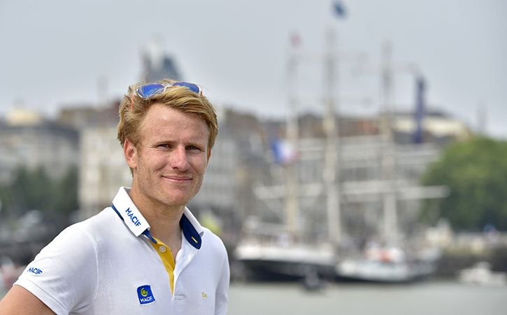 Frenchman Francois Gabart smashed the world record