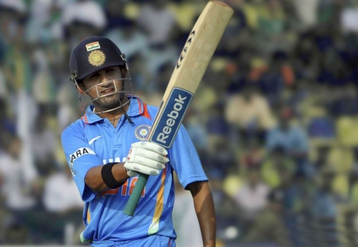 Gautam Gambhir was part of the teams to win the World T20 and World Cup