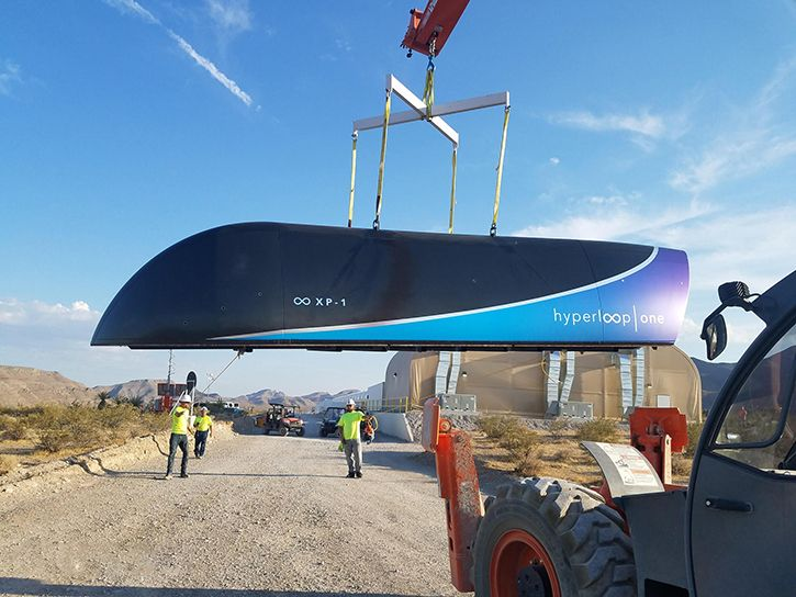 Hyperloop One sets new speed record