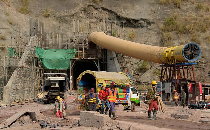 India And Pakistan Race To Tap The Himalayas