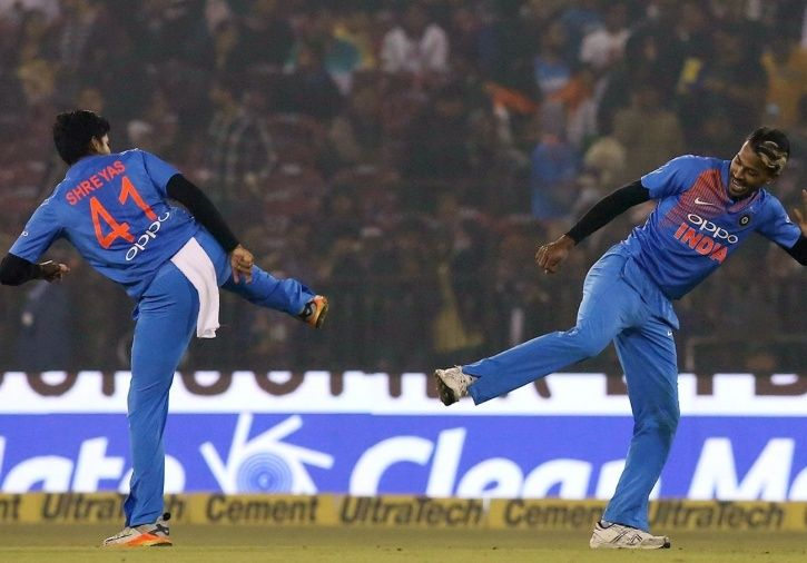India beat Sri Lanka by 93 runs in Cuttack