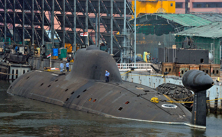 India Starts Process To Build 6 Nuclear-Powered Attack Submarines