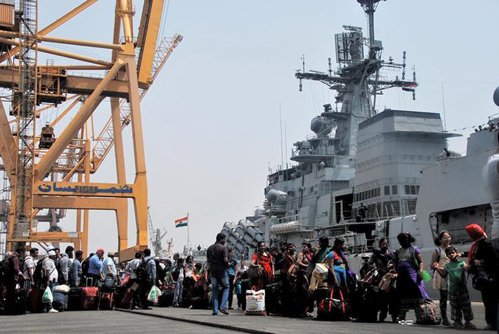 Indian Navy Op Raahat