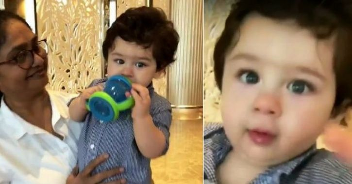 Jacqueline Fernandez Meets Taimur Ali Khan & Her Small Conversation With Him Will Make Your Day