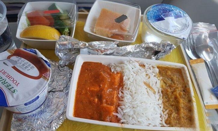 jet airways food