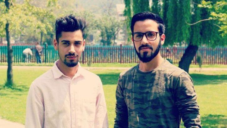 kartfood co-founders Amir (L) Furqan (R)