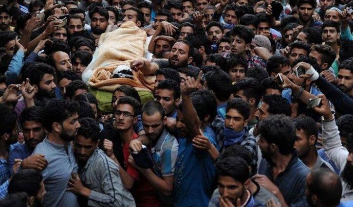 kashmir youth join militancy After Burhan Wani