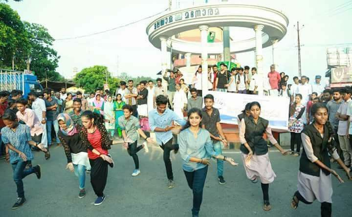 Kerala Malappuram Muslim Girls Flash Mob
