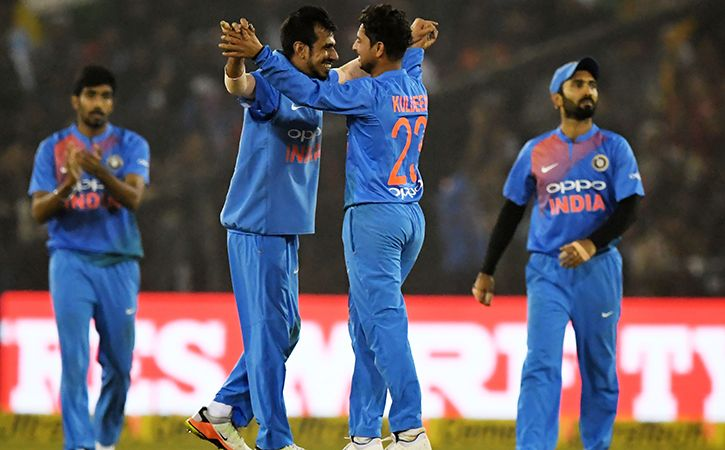 Kuldeep Yadav And Yuzvendra Chahal Shared 7 Wickets