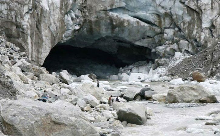 Landslip Creates Lake At Gangotri