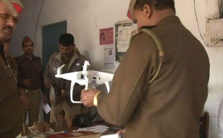 Made In China Drone Found Near Taj Mahal