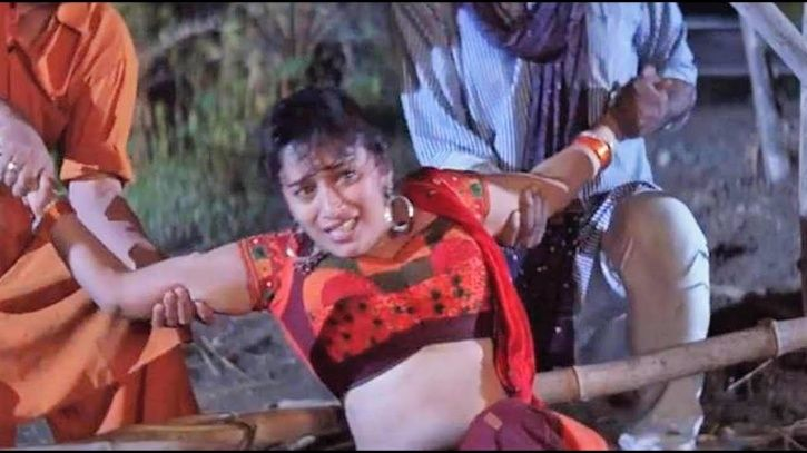 Madhuri Dixit rape scene.