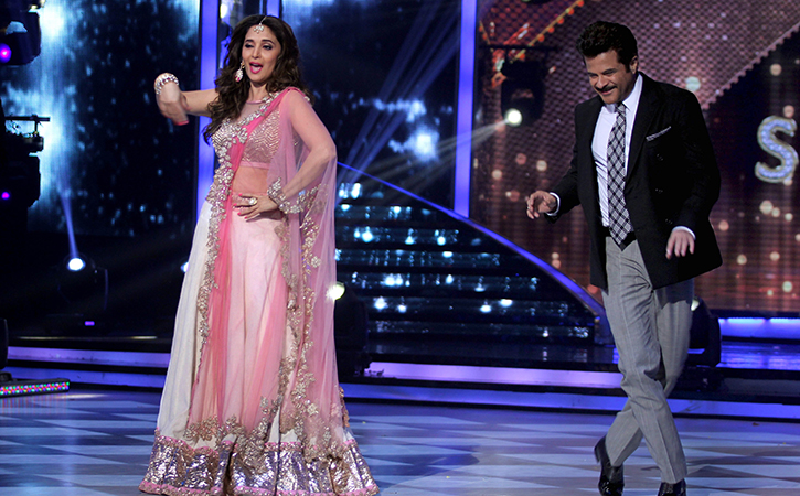Madhuri Dixit work with anil kapoor in total dhamaal